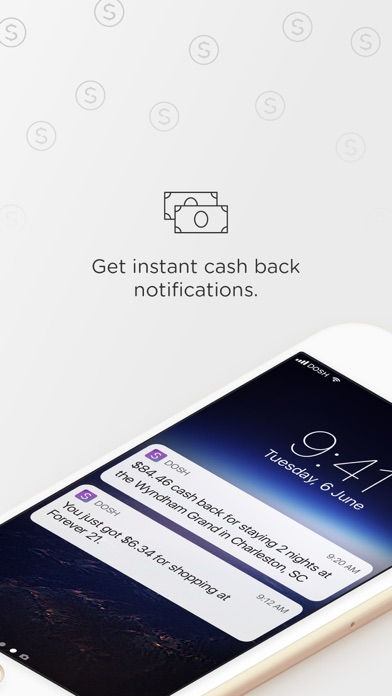 Screenshots of Dosh for iPhone