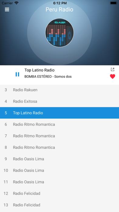 Peru Radio Station Peruvian FM screenshot three