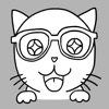 Nerdy Kitty: Cool Cat Stickers