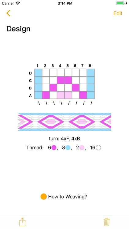 Tablet Weaving Designer