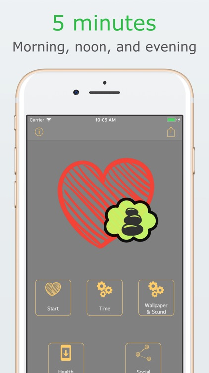 Cardiac coherence assistant screenshot-4