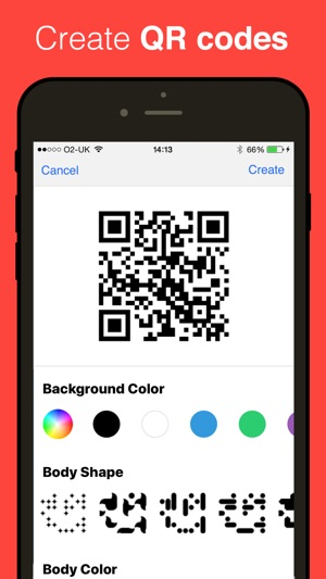 qr reader for iphone on the app store. Black Bedroom Furniture Sets. Home Design Ideas