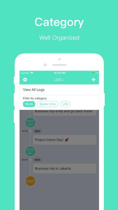 LOG Screenshots