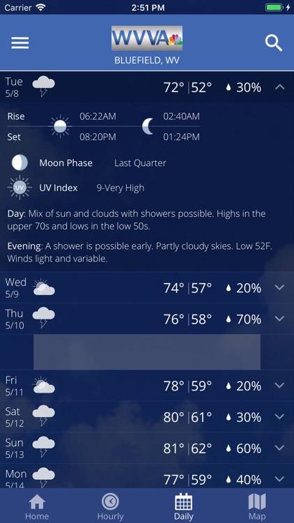 WVVA Weather screenshot-4