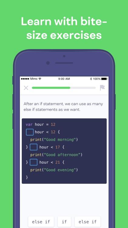 Mimo: Learn to Code screenshot-4