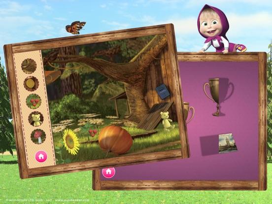 Ipad Screen Shot Masha and the Bear Games 4