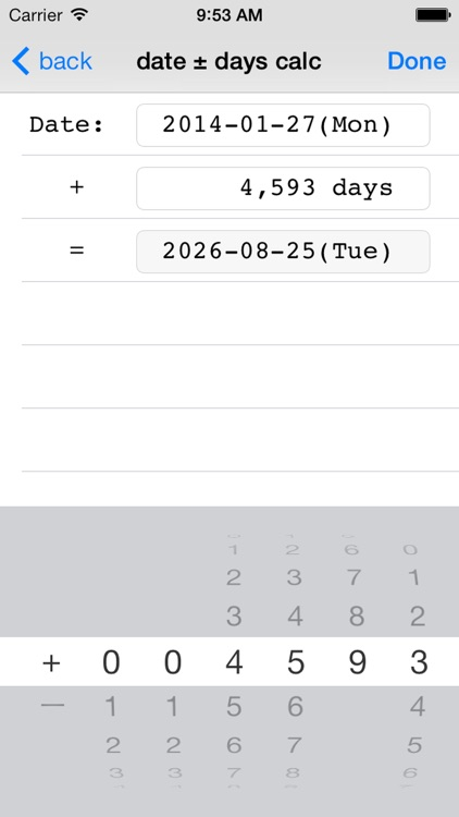 DateCalcMemo ~ how many days screenshot-4