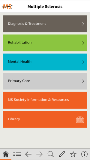 Multiple Sclerosis Dx   Mgmt. on the App Store ea68e06ab