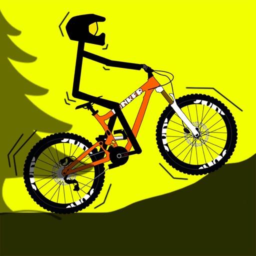 Stickman Bike Downhill