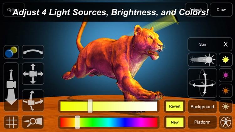 Lion Mannequin screenshot-8