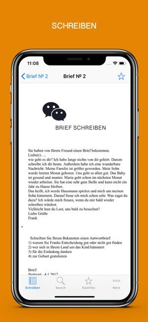 Schreiben Im App Store