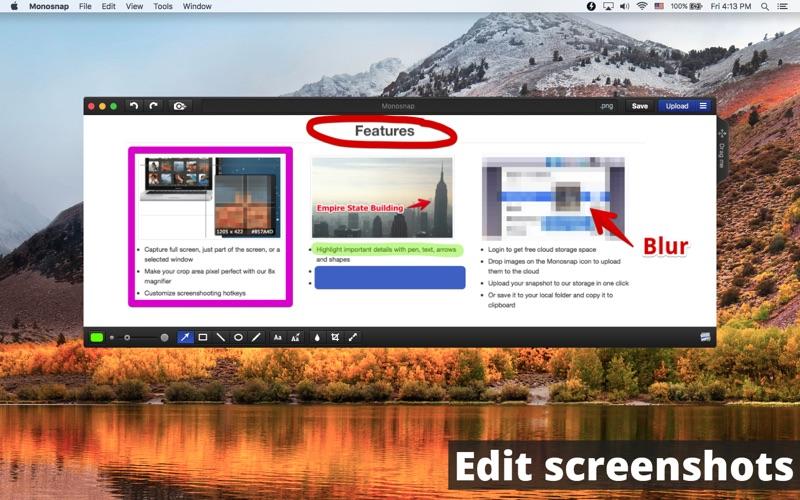 Monosnap - screenshot editor for Mac