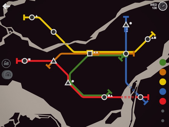 Screenshot #5 for Mini Metro
