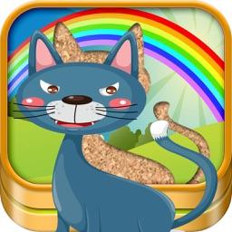 QCat Animal Zoo Puzzle