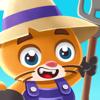 Digital Things - Super Idle Cats - Clicker Farm artwork