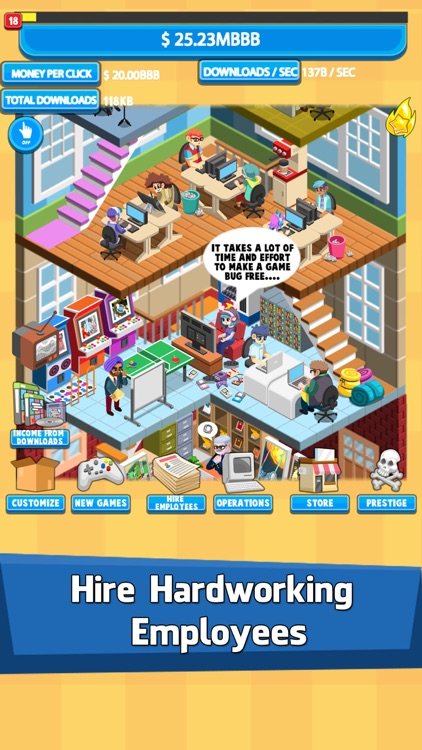 Video Game Tycoon: Tap Story screenshot-3