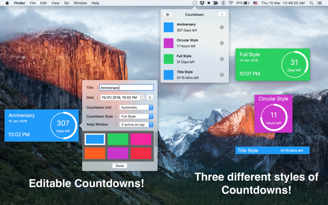 free clock timer for mac
