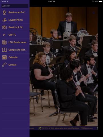 LSU Bands - náhled