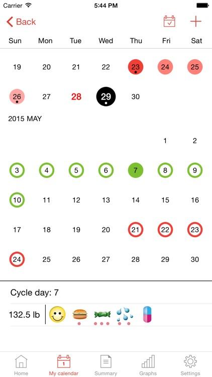 WomanLog S Calendar
