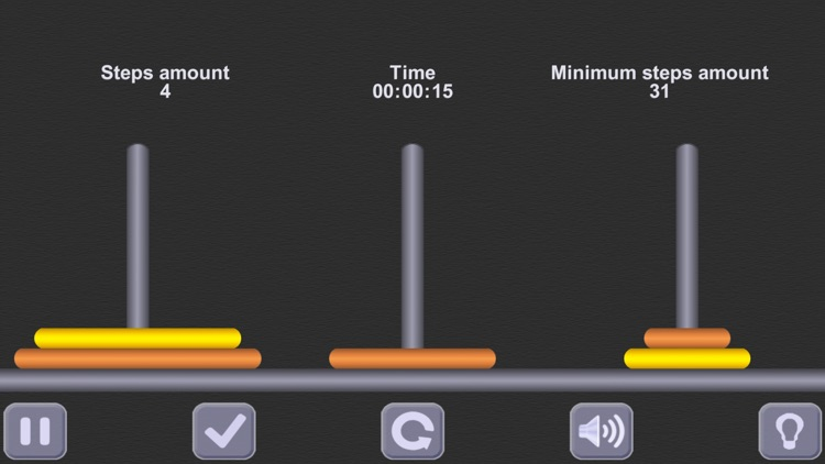 The Tower of Hanoi. (ad-free) screenshot-1