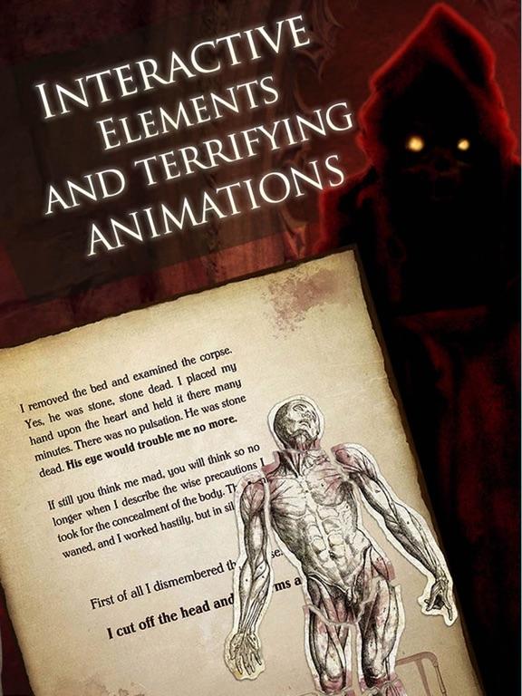 iClassics: Edgar A. Poe Vol. 1 screenshot 7