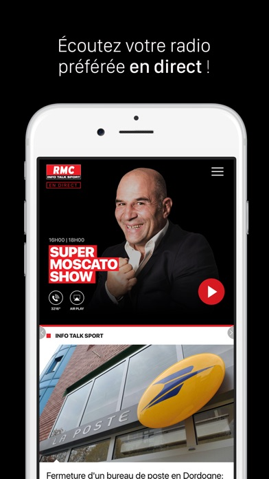 RMC : Info Talk Sport Скриншоты3