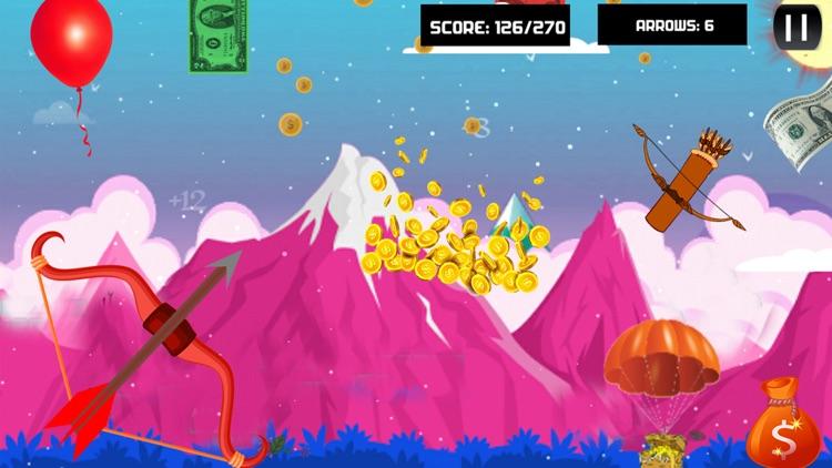 Dollar & Coins Archery Shooter screenshot-3