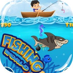 Fishing World Game - Gold Miner Underwater