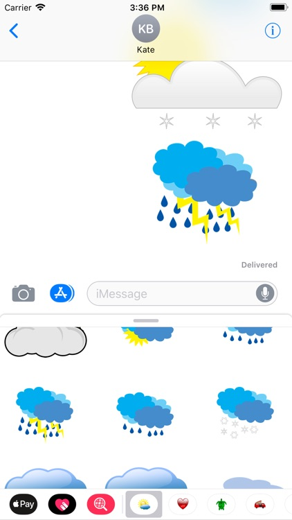 My Weather Sticker Pack screenshot-6