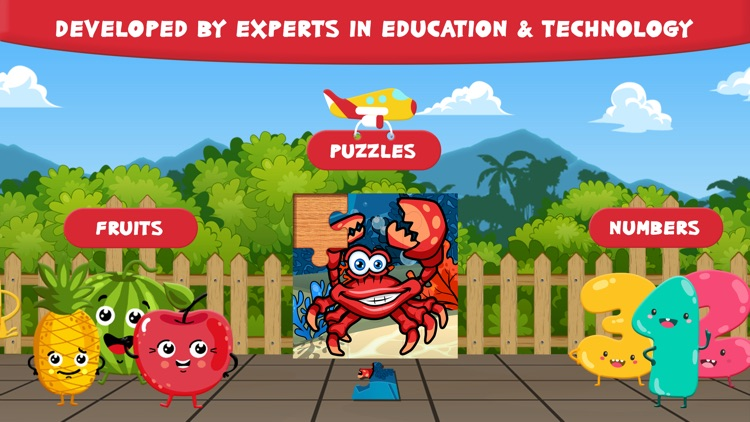 Preschool Zoo Puzzles Zoolingo screenshot-2