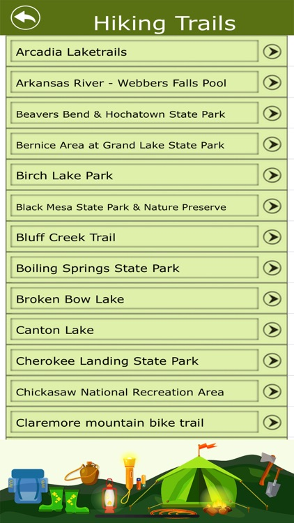 Oklahoma Campgrounds & Trails screenshot-3