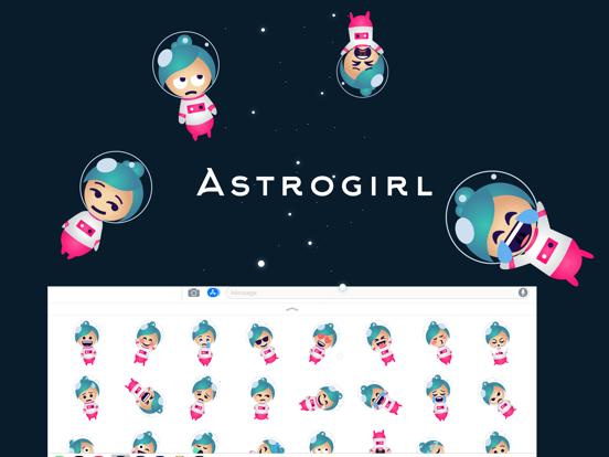 Astrogirl - Astronaut Emoji | App Price Drops