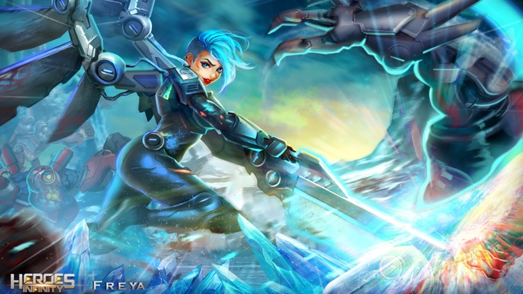 Heroes Infinity - Blade & Soul screenshot-3