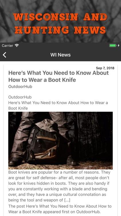 Hunt Wisconsin screenshot-4