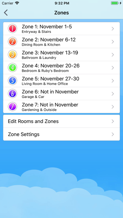 Home Routines review screenshots