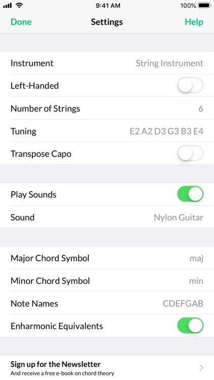 Reverse Chord Finder Pro screenshot-3