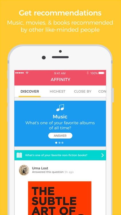 Affinity: People Like You screenshot-3