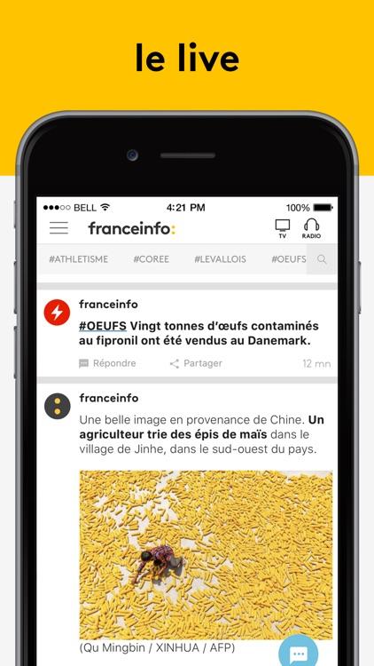 franceinfo - l'actu en continu screenshot-0