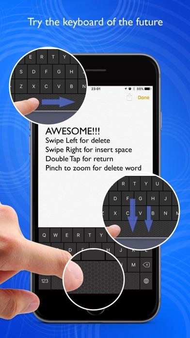Swipe Keyboard Simple Screenshots