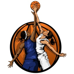Women's Basketball Stickers