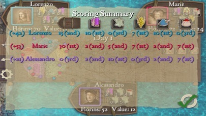 Screenshot #9 for Reiner Knizia's Medici HD