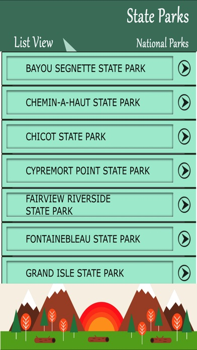 State Parks Guide App Reviews - User Reviews of State Parks Guide