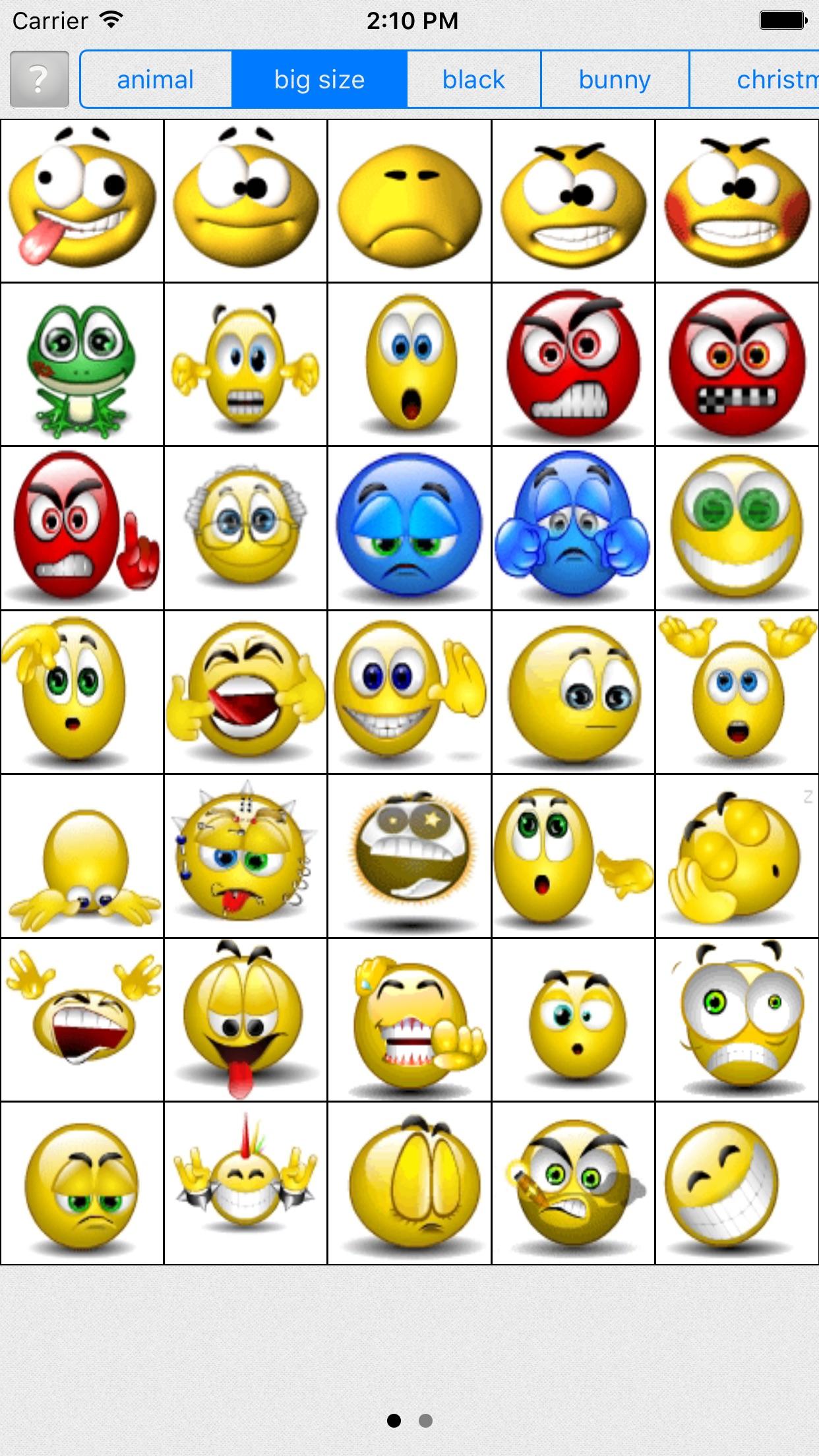 Live Emoji - sending GIF Emoji Screenshot