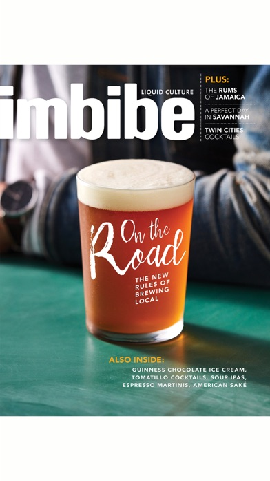 Imbibe Magazine review screenshots