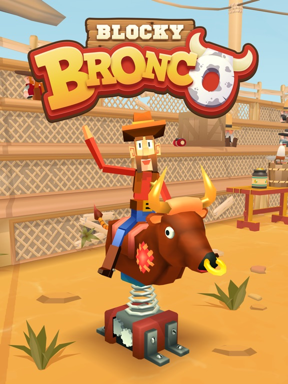 Blocky Bronco screenshot 6