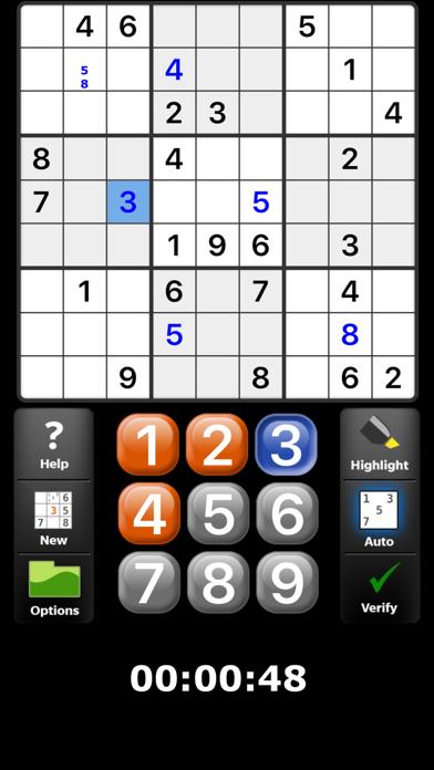 Satori Sudoku screenshot1