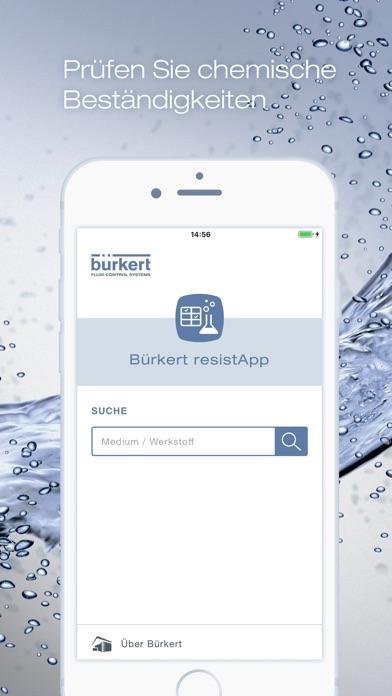 Bürkert resistAppScreenshot von 1