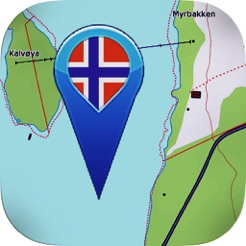 Topographic Map Of Norway.Topo Maps Norway On The App Store