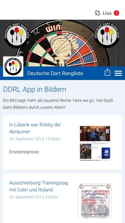Darts Rangliste Deutschland