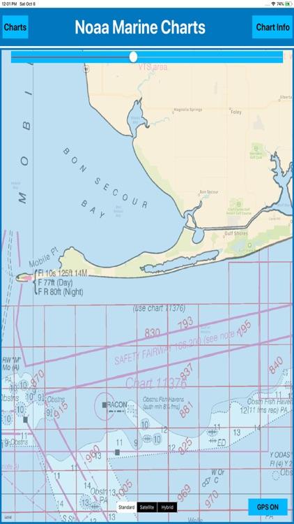 USA Marine Charts NOAA MGR screenshot-4